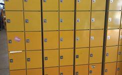 10 vaks lockerkast Oostwoud (div. kleuren)